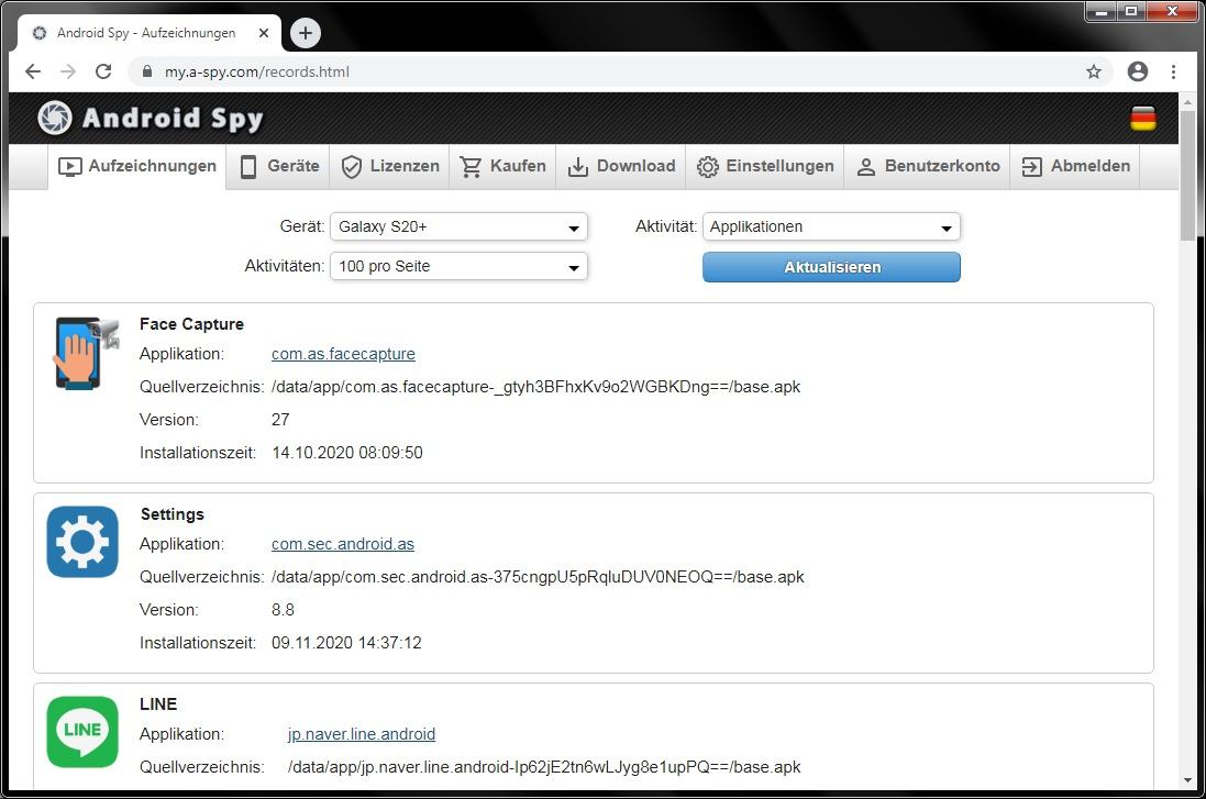 spionage software tastaturanschläge